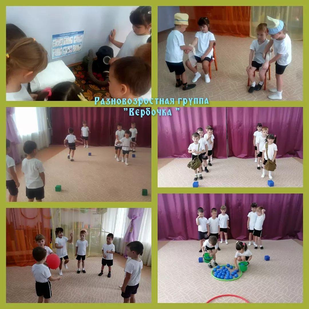 В детском саду №17 города Петровска провели День гражданской обороны