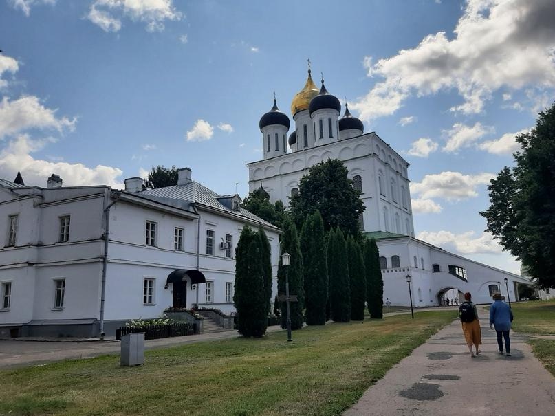 Псков. Кремль. Свято-Троицкий собор
