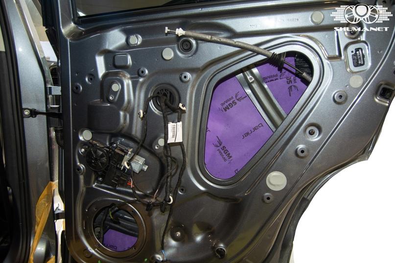 Комплексная шумоизоляция Skoda Karoq., изображение №10