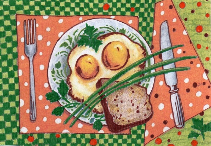 — Девушка, я 4 дня не ел. Купите мне, пожалуйста, картошки и макарон, — произнес...