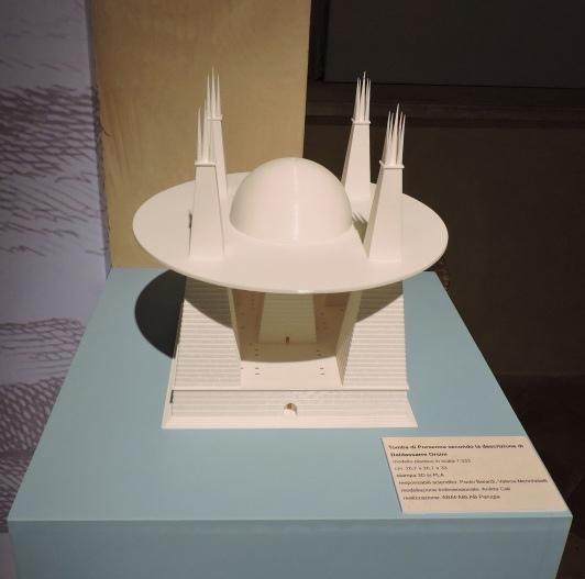 3D реконструкция гробницы