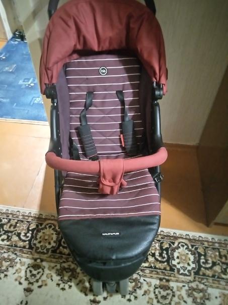 Коляска ( полный комплект ) + кенгуру рюкзак (в ис...