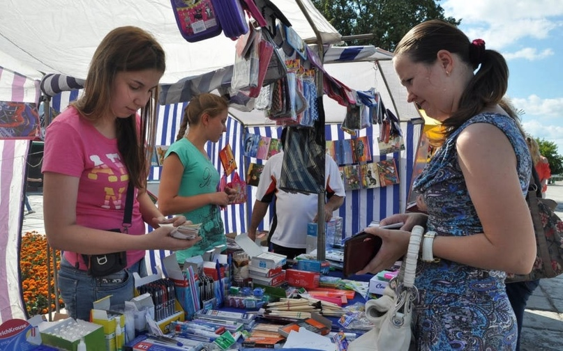 Сезон школьных базаров стартует в Гомельской области с 15 июля
