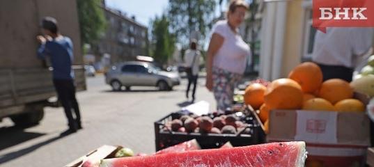 В Сыктывкаре усилят меры борьбы с незаконной торговлей арбузами и овощами