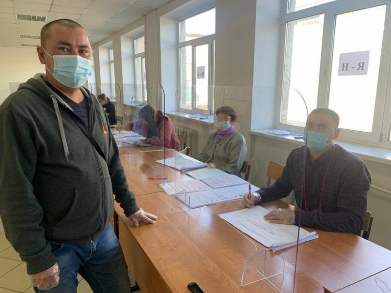 Явка на выборах в нескольких районах Оренбургской области составила почти 50 процентов