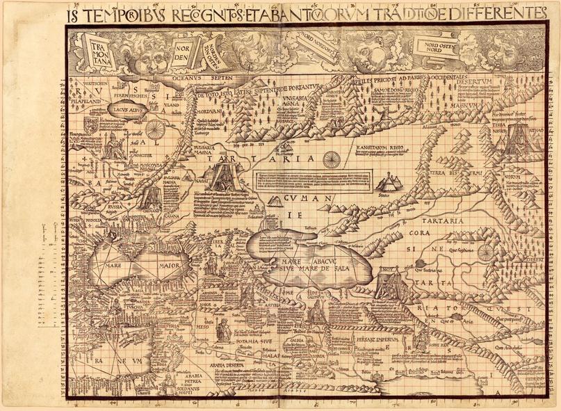 Карта мира созданная немецким картографом Мартином Вальдземюллером и датируемая 1507 годом, хранится в Отделе географии и карт Библиотеки Конгресса Вашингтон, округ Колумбия, США.