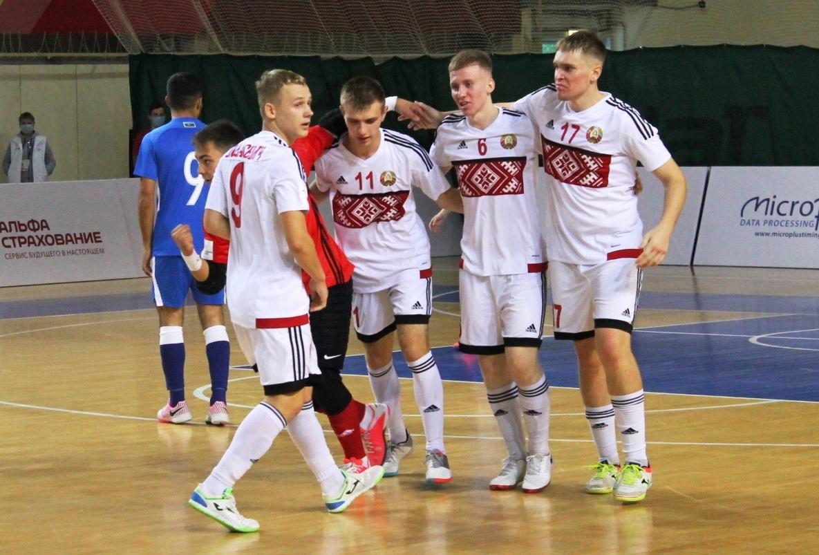 Юношеская сборная Беларуси по мини-футболу стала призером соревнований в Казани