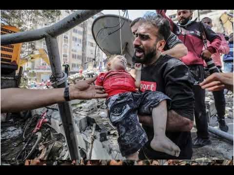 Bugün Gazze'nin merkezindeki sivil mahallelerde meydana gelen katliamlarda