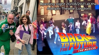 Back to the Future: The Musical Opening Night 20/08/2021 @ Adelphi Theatre, London   Brittany Miller