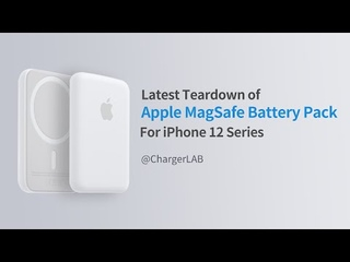 Latest Teardown of Apple MagSafe Battery Pack for iPhone 12 Series
