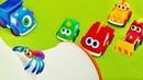 Весёлый паучок - Детская песенка мультфильм для малышей - Машинки Мокас новая серия про паучка