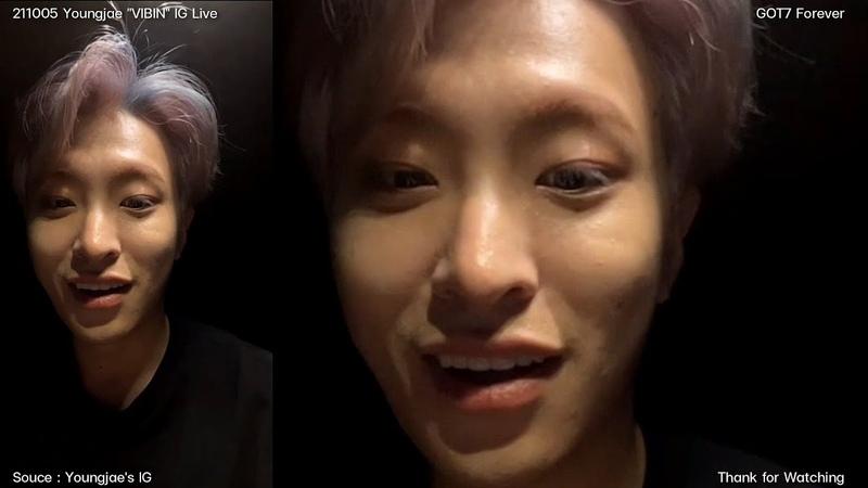 211005 Youngjae VIBIN IG Live