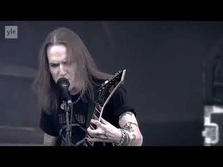 Children of Bodom - Live at Ruisrock 2014 -  Alexi Laiho