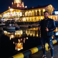 Фотография страницы Максима Жигульского ВКонтакте