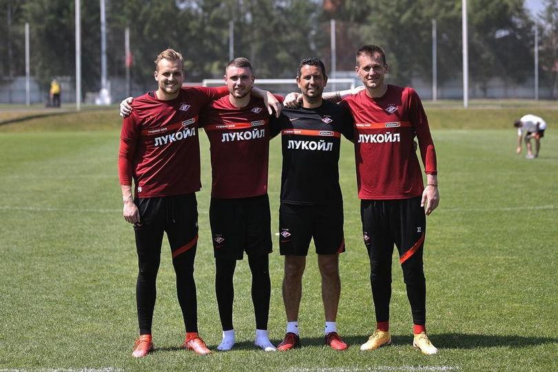 Александр Максименко, Александр Селихов, Луиш Эштевеш и Артем Ребров
