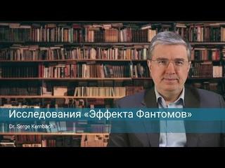 Исследования «эффекта фантомов» / доклад Сергея Кернбаха (Serge Kernbach)
