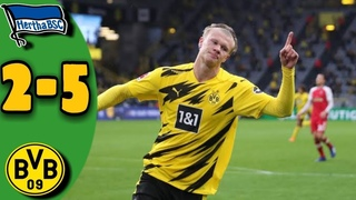 Hertha Berlin vs Borussia Dortmund 2-5 - All Goals & Extended Highlights 2020 HD