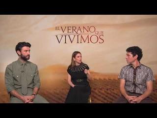 ENTREVISTA CON BLANCA SUÁREZ, JAVIER REY Y PABLO MOLINERO