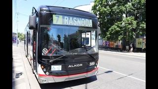 11 06 Новый троллейбус на линии