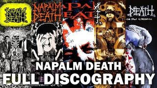 N̲a̲palm Deat̲h̲ - Full Discography HQ